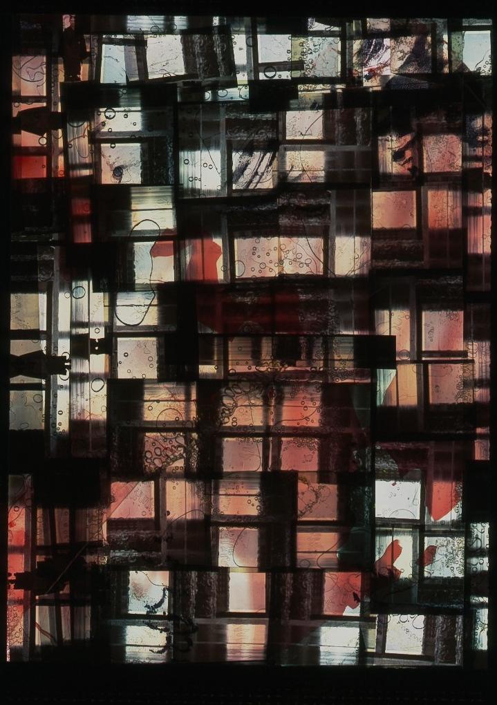 Bernard Gast – To Viera da Silva (2006), Paintless-Painting (1 x 1, 36 m) ©Adagp