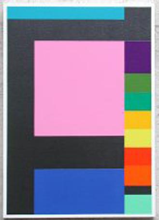 Jean-François Dubreuil – «SÜDDEUTSCHE N°74 DU 29/03/2007 QUP1» (2007), Painting (59 X 92) CM A/T, Artist's courtesy & Galerie Lahumière