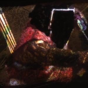 Bernard Gast – Victorieux (2013), Peinture-sans-Peinture (1, 19 x 2 m) ©Adagp