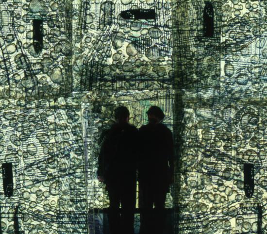 Bernard Gast – J'ai fondé / I have founded (2011), Paintless-Painting (1,30 x 1,49 m) ©Adagp